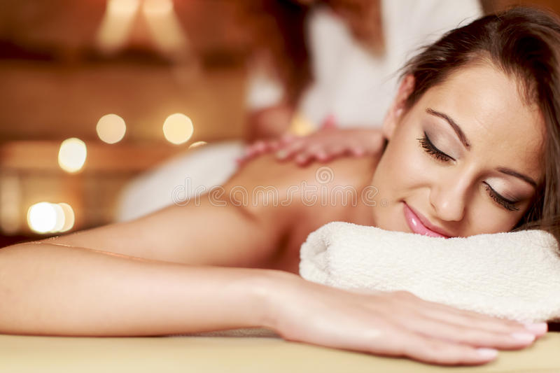 Massage images stock