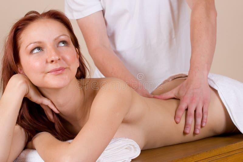 Download Massage 33 fotografering för bildbyråer. Bild av flicka - 236579