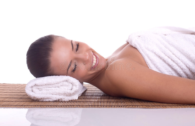 Massage royaltyfri fotografi