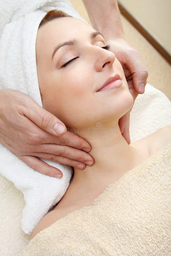 Massage royalty-vrije stock afbeelding