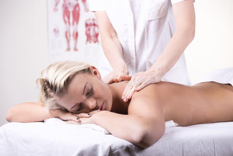 Massage arkivbilder