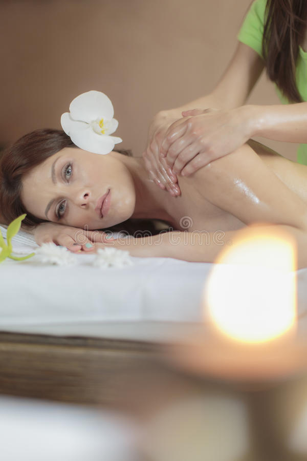 massage stockbild