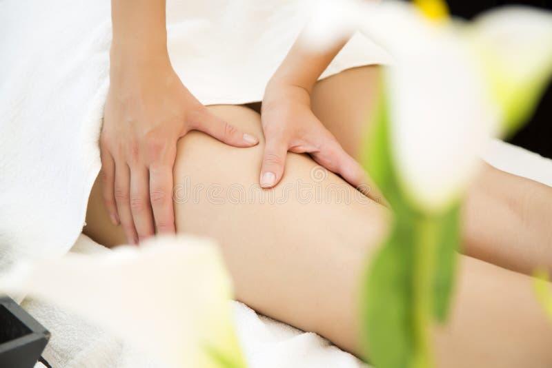 massage stockfoto