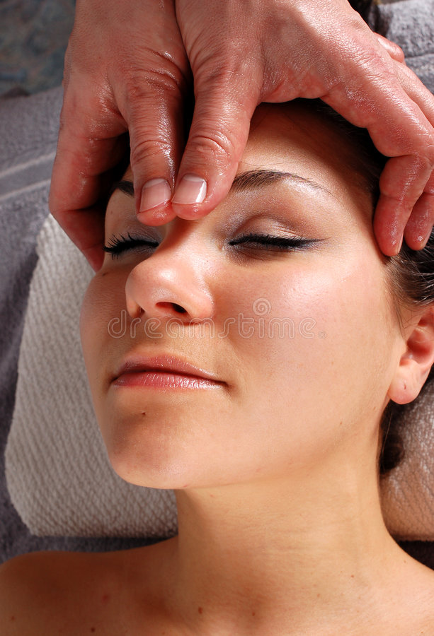 Massage   stockfotos