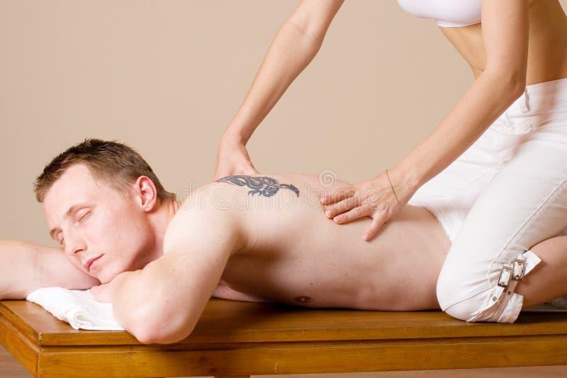 massage 5 royaltyfri bild