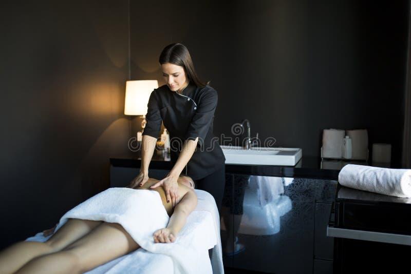 massage lizenzfreies stockbild