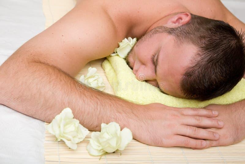 Massage lizenzfreie stockbilder