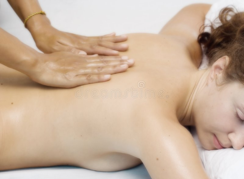 Massage stock afbeelding