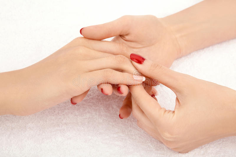 Massage stock foto's