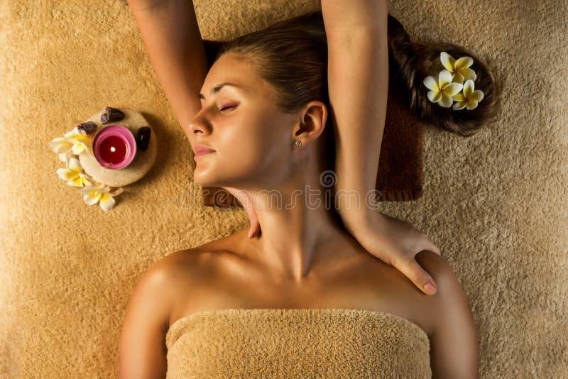 Massage Antistress images libres de droits