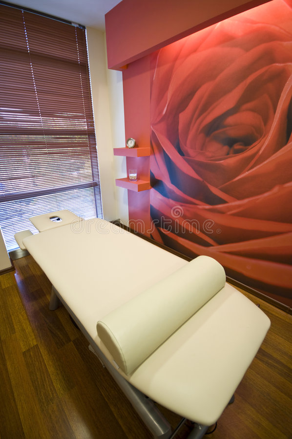 Massage bed royalty free stock images
