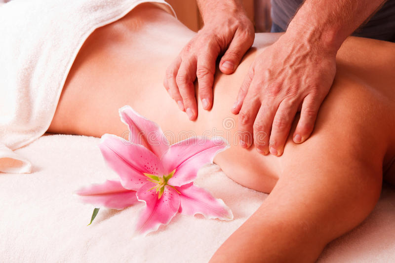 Download Massage Body  Women  In Spa Stock Photo - Image of sensuality, skin: 27096414