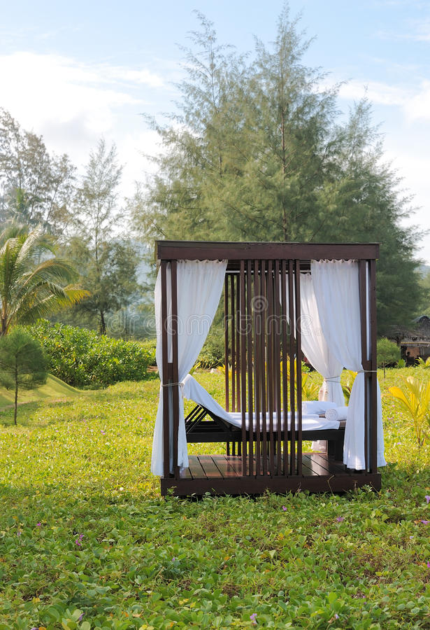 Massage booth outdoor