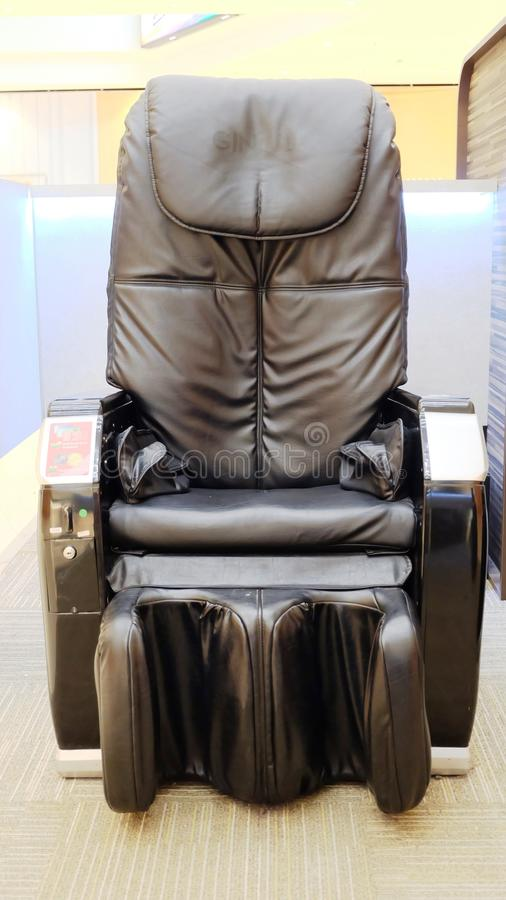 Massage chair royalty free stock photography