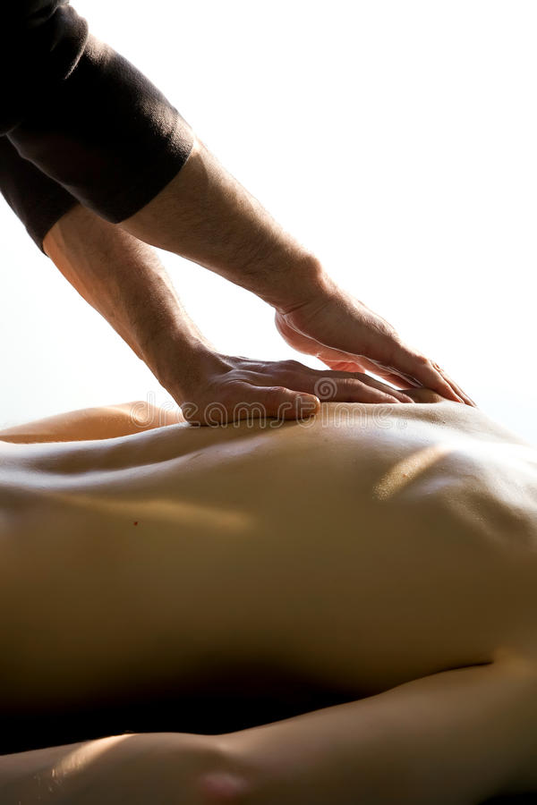 Massage d'acuponcture photos stock