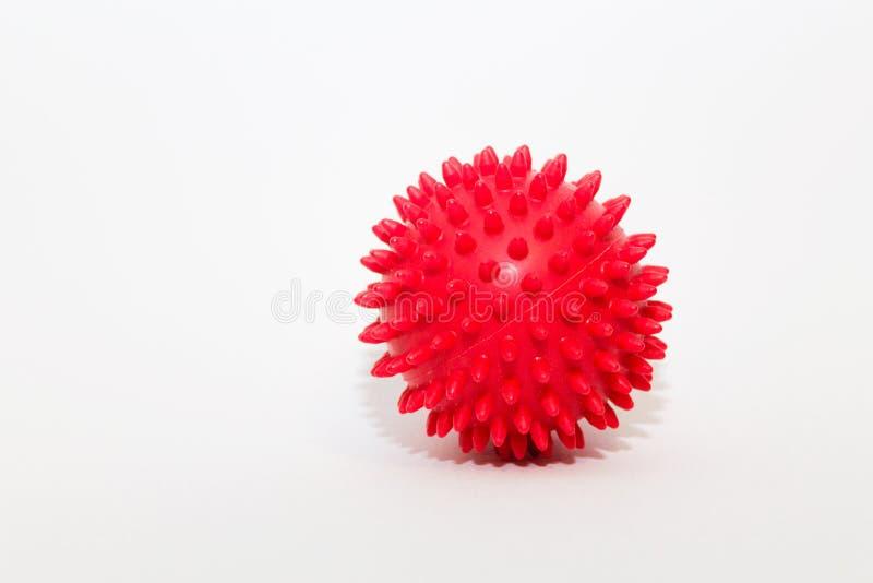 Massage de boule images stock