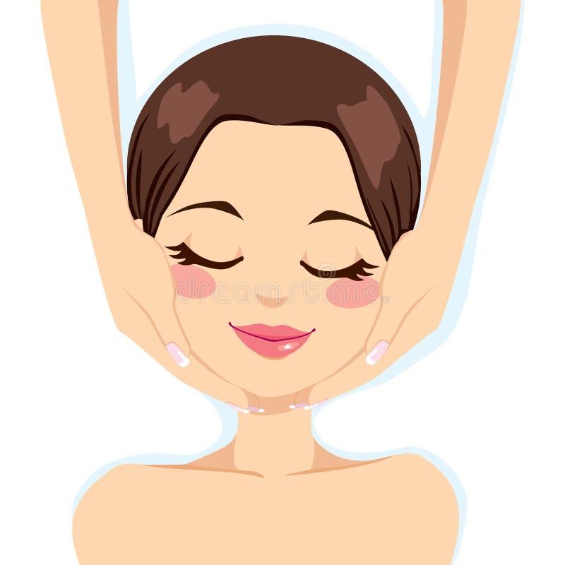 Massage de massage facial de soins de la peau