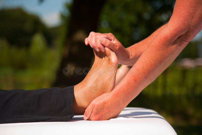 Massage De Polarité Photographie stock