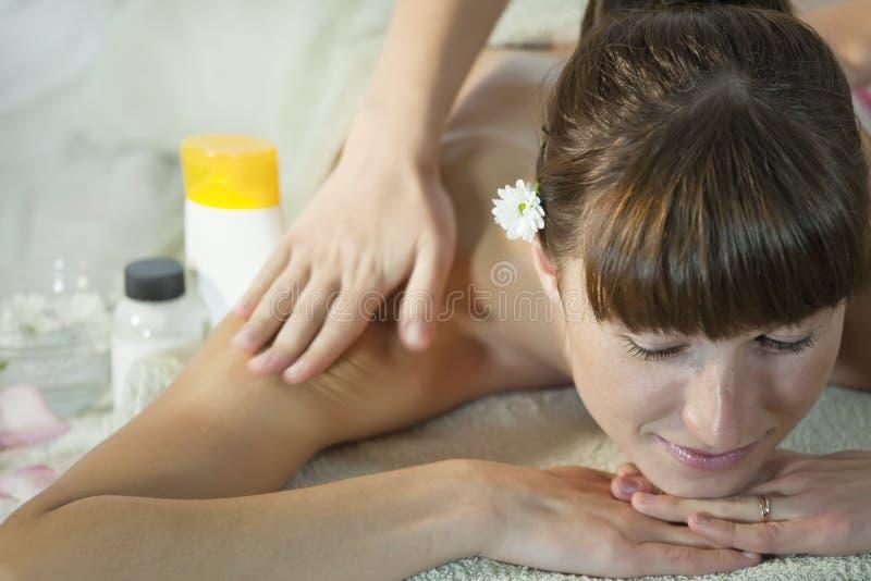 Massage de santé image libre de droits