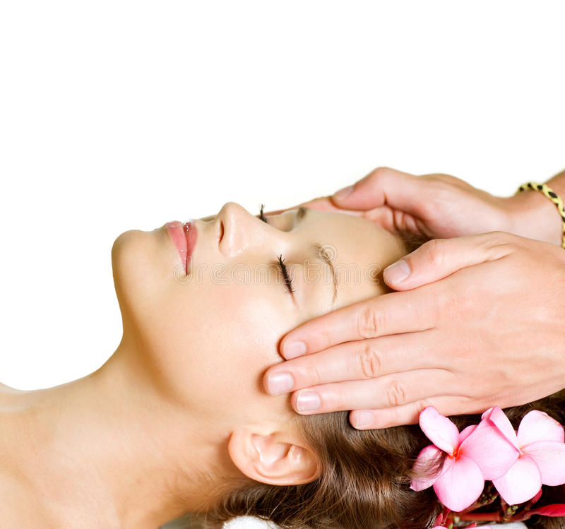 Massage de station thermale images stock