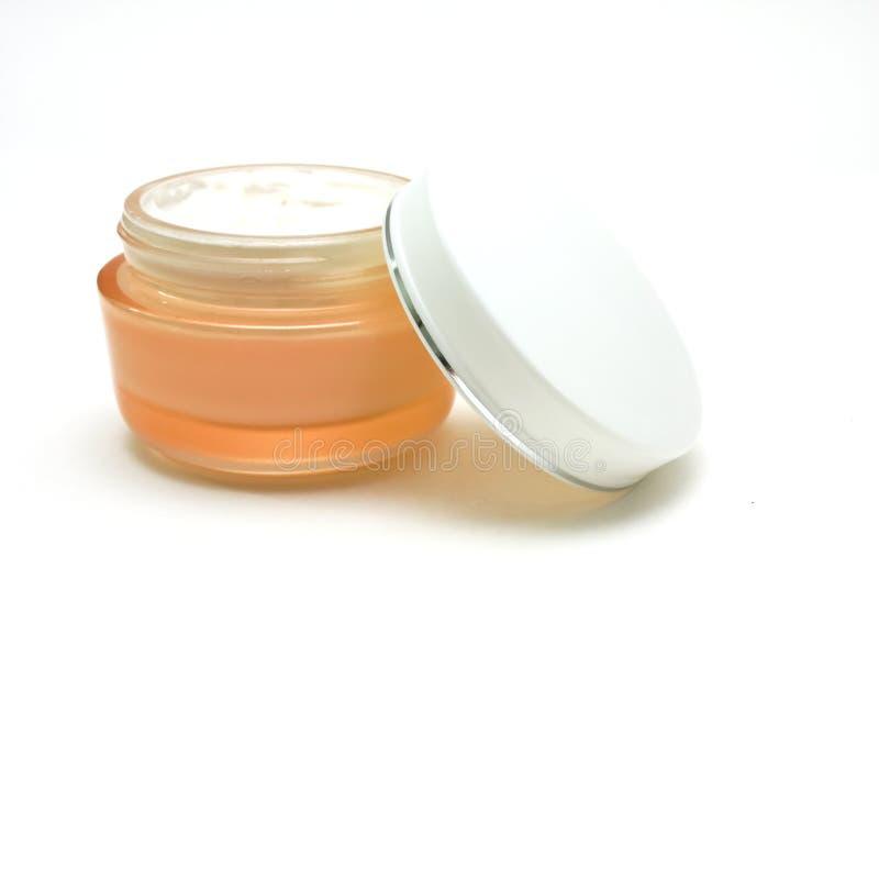 massage facial crème photographie stock