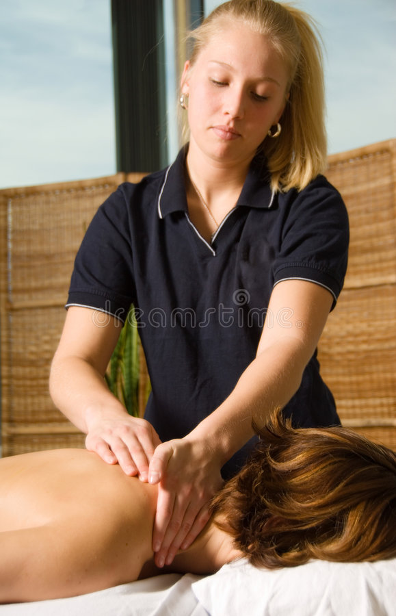Massage-Klinik lizenzfreie stockfotos
