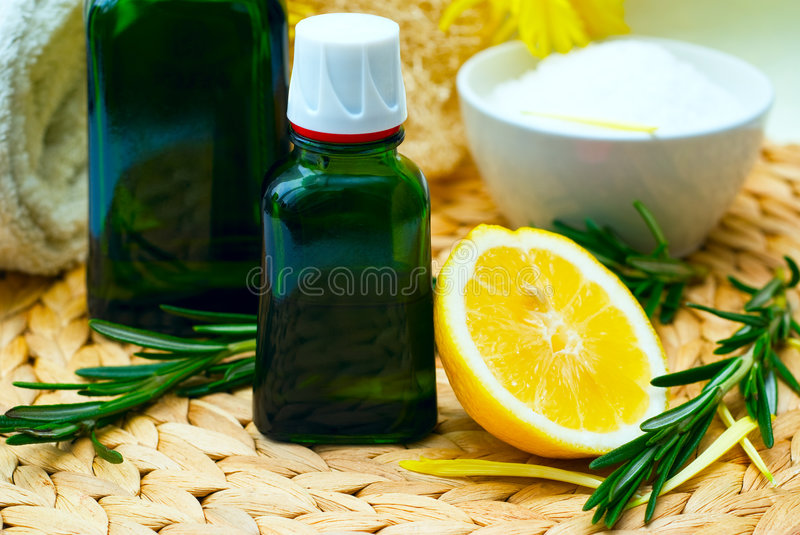 Massage Oil royalty free stock images