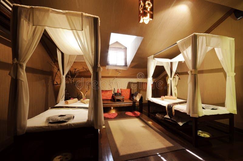Massage room royalty free stock photo