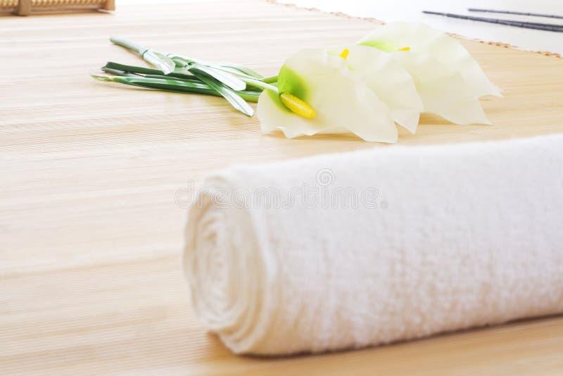 Download Massage setup detail ready stock image. Image of beauty - 7415229