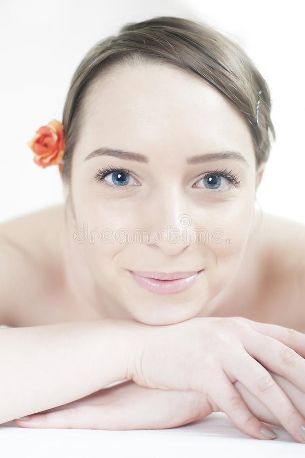 Download Massage at spa center stock image. Image of purity, procedures - 32161141