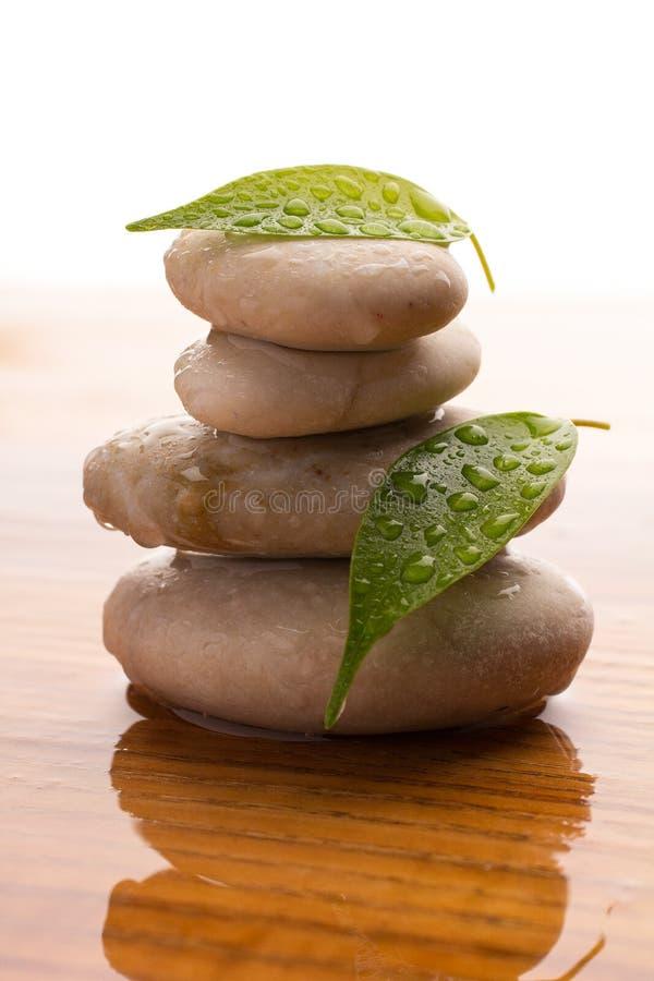 Spa stones. royalty free stock image