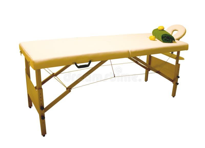 Massage Table Royalty Free Stock Photo