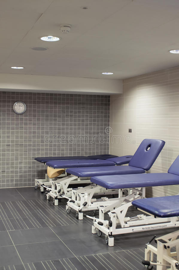 Download Massage Tables In Sports Club Stock Photo - Image: 30343674