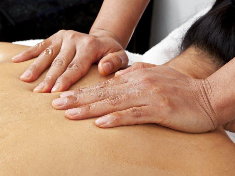 Massage tendre photo stock