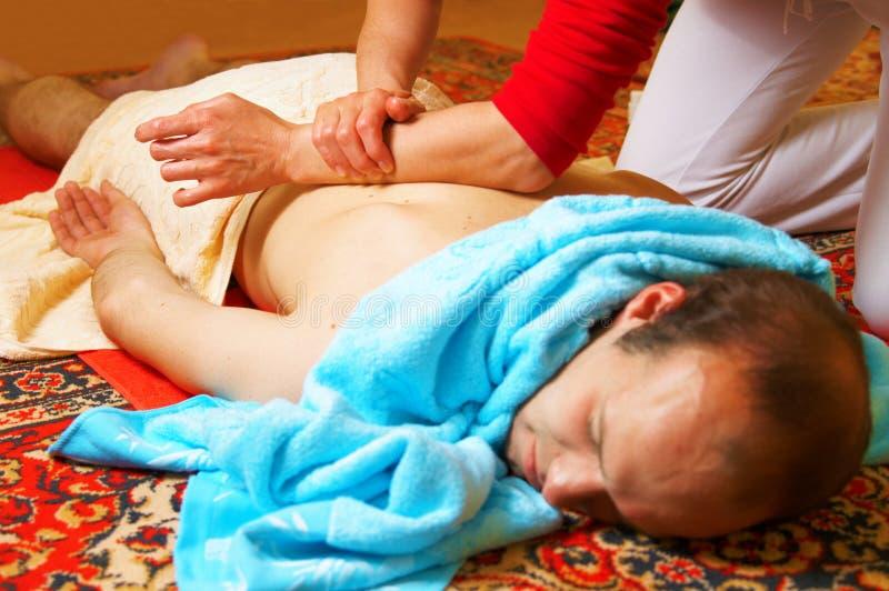 Massage thaï image stock