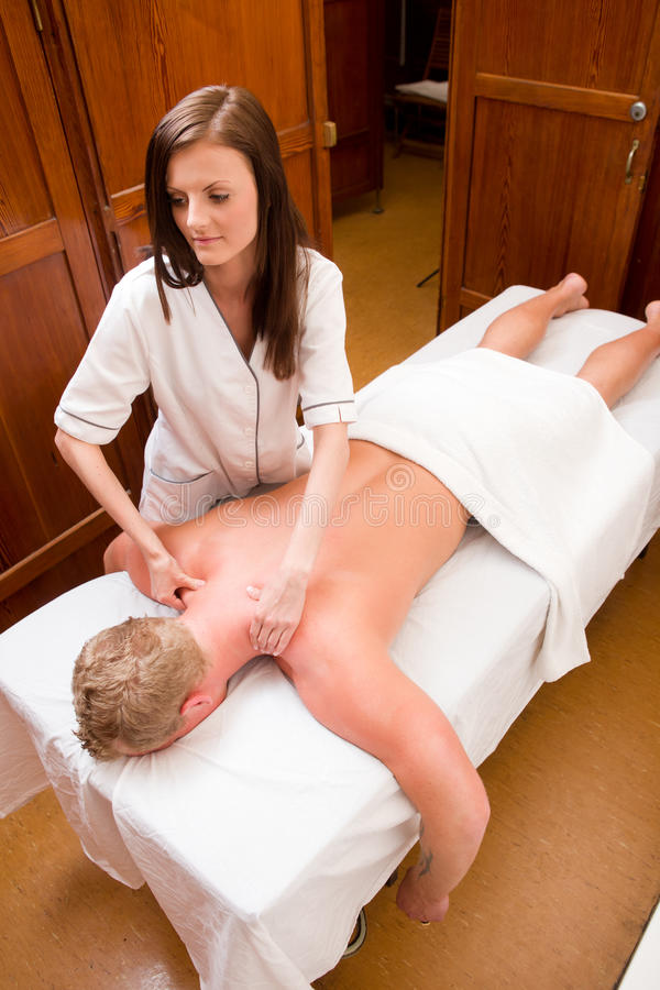 Download Massage Therapist In A Old Style Spa Stock Photo - Image: 20404422