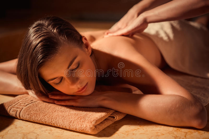 Massage royalty free stock photography