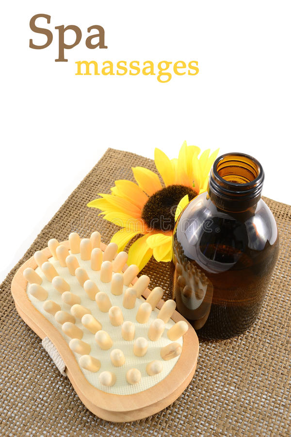 massagebrunnsorthjälpmedel royaltyfri fotografi