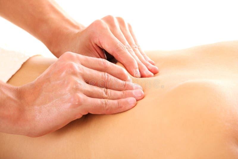 Massagem Foto de Stock