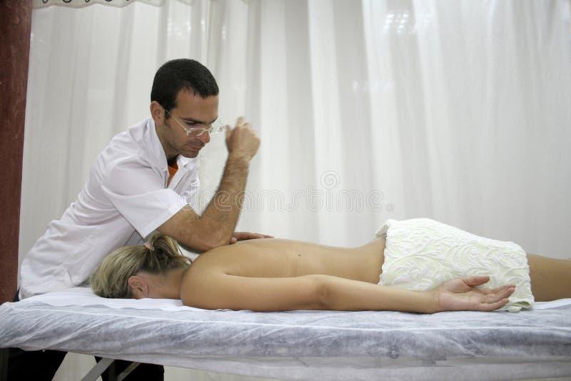 Massagem fotos de stock