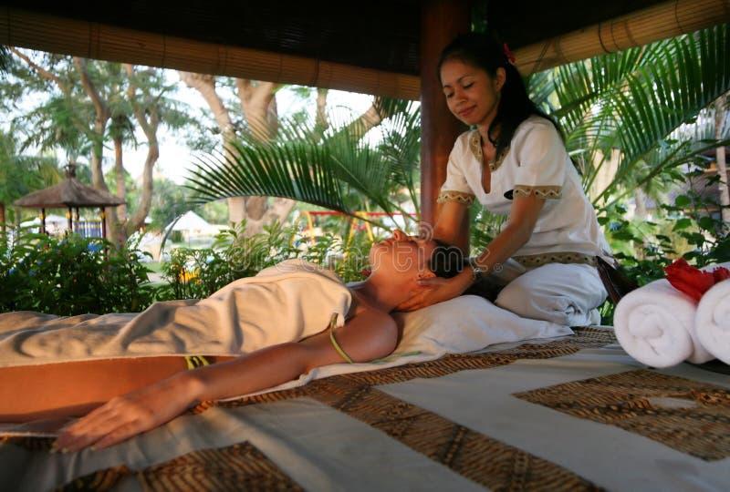 Massagem fotografia de stock