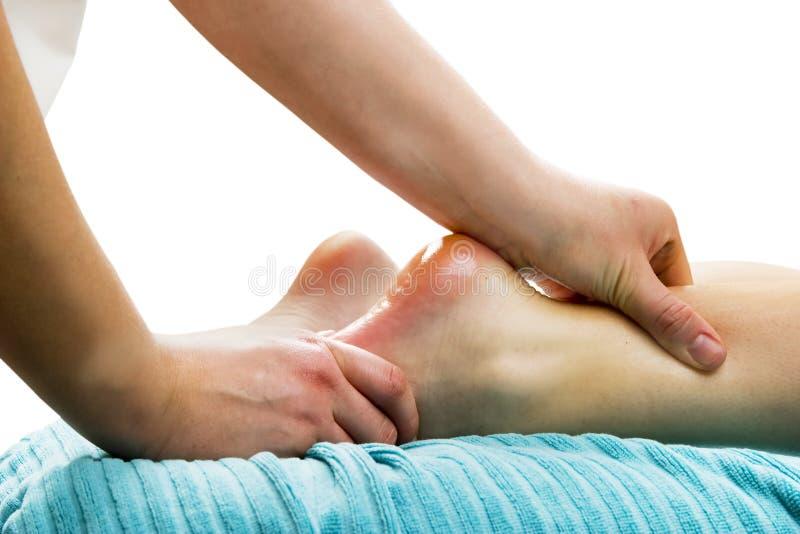 Massagem do pé foto de stock royalty free