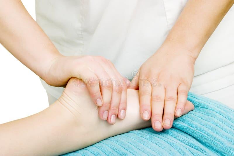 Massagem do pé imagem de stock royalty free