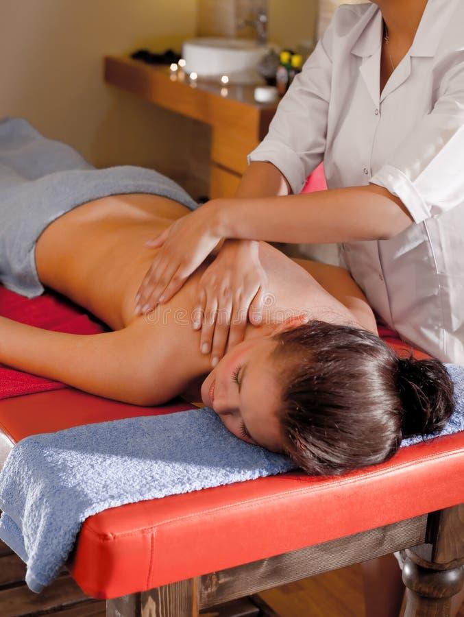 Download Massagem dos termas imagem de stock. Imagem de purity - 12806853