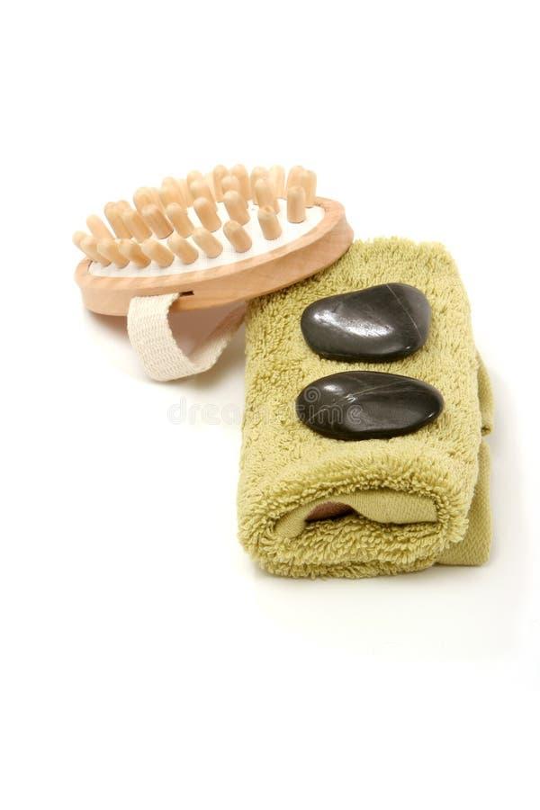 Massagenachrichten stockbild