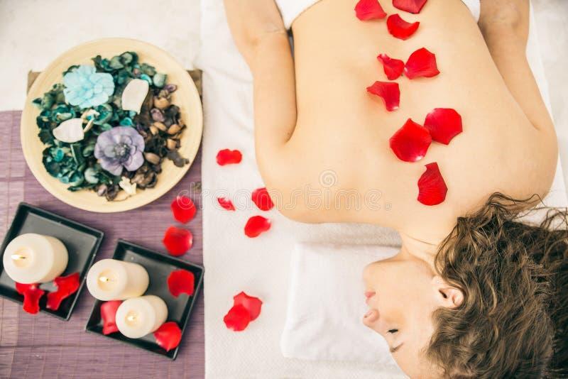 Massagesalong arkivbild