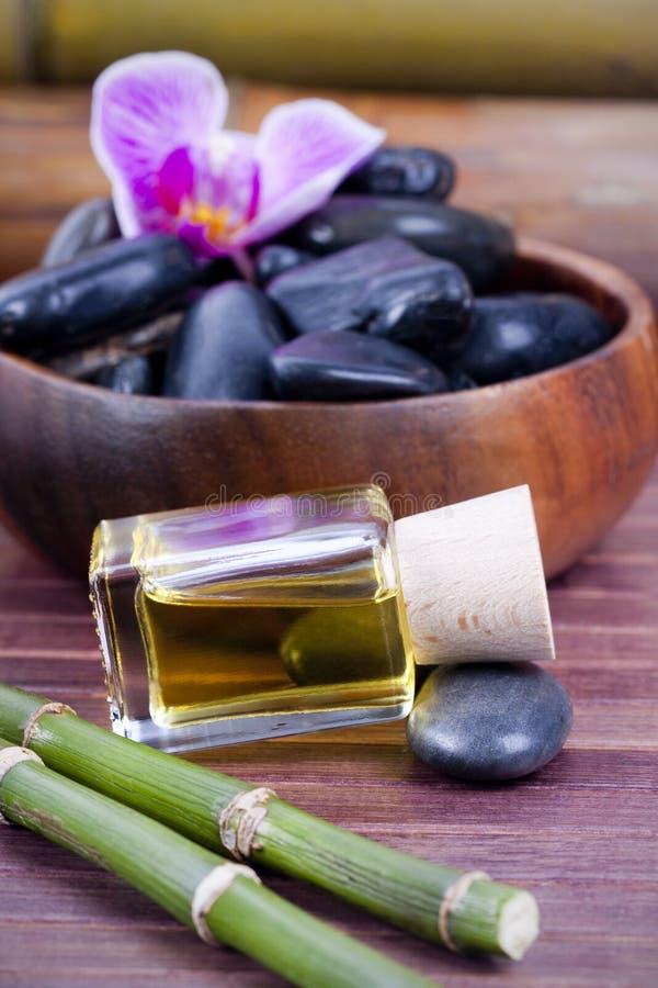Massageschmieröl lizenzfreies stockfoto