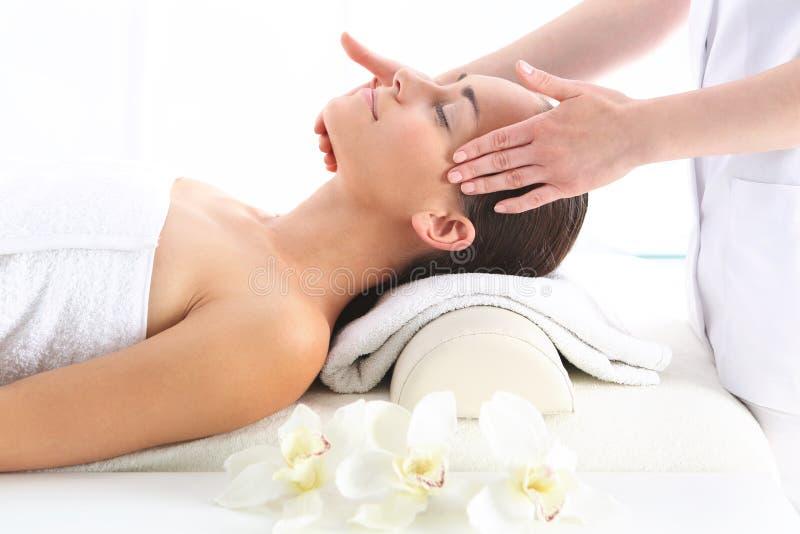Massagetempel stockfoto