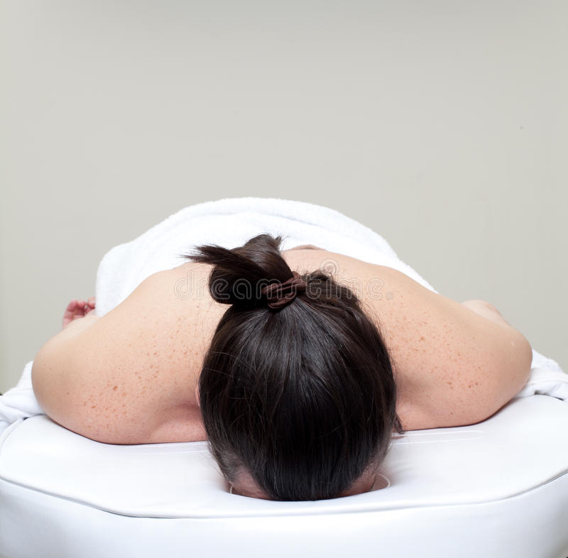 Massaggi la stazione termale. Appoggi il trattamento. fotografia stock libera da diritti