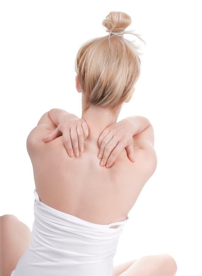 Massaggio immagini stock libere da diritti